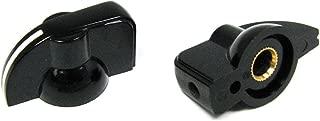 2-pack Potentiometer Knobs: Black