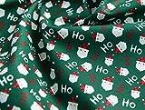 Weihnachtsstoff Meterware Weihnachten Baumwolle und Leinen