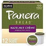 Panera Bread Hazelnut Creme, Single-Serve Keurig K-Cup Pods, Flavored Light Roast Coffee, 72 Count