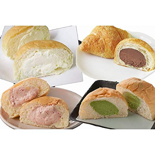 ( 産地直送 お取り寄せグルメ ) 岡山県 「 清水屋 」 生クリームパンセット