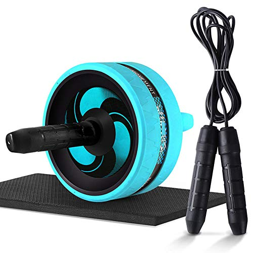 One plus one Ab Roller Wheel Set, Jump Rope No Noise Abdominal Wheel, Ab...