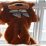 N / A Pas Cher géant Non rempli Ours Vide Manteau de Peau d'ours Doux Grande Coquille de Peau Semi-Fini Jouet en Peluche pour Les Enfants de Vacances 140 cm