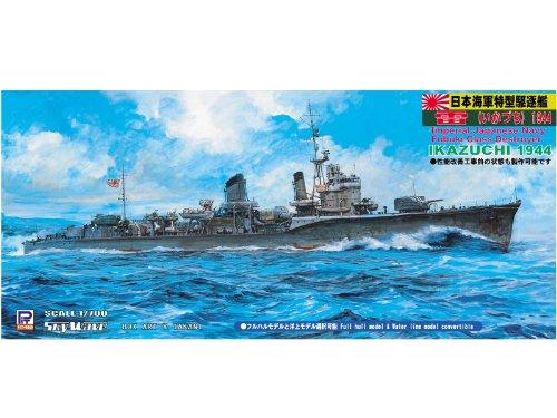 1/700 Japanese Navy Akatsuki type (especially type III) destroyer thunder 1944 (W105) (japan import)