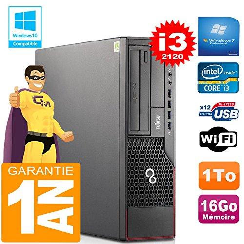 Fujitsu PC Esprimo E700 E90+ SFF Core I3-2120 RAM 16 GB Scheibe 1 TG Wifi W7 (Generalüberholt)