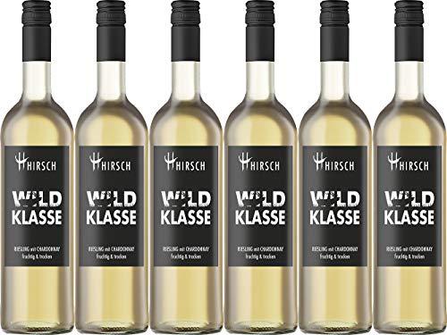 Christian Hirsch WILDKLASSE Riesling mit Chardonnay & 2020 Trocken (6 x 0.75 l)