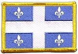 Flaggen Aufnäher Kanada Quebec Fahne Patch + gratis