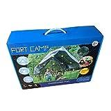 iBaste DIY Kinder Konstruktionsspielzeug, Fort Building Kit 158-teiliges Spielzelt-Kit Fort Construction Toys