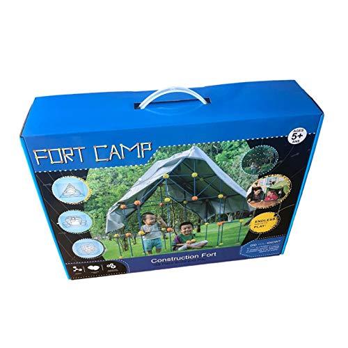 persiverney-AT Piezas DIY Fort Building Kit Build Making Kits Toys DIY Building Castles Tunnels Tent extiende tu imaginación para Construir tu Castillo Builder Gift para niños (Sin Funda) Top Sale