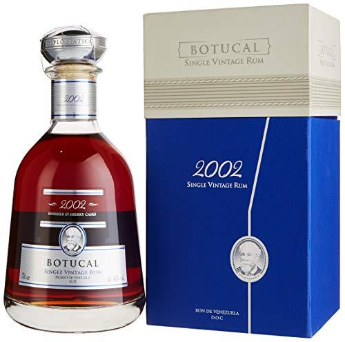 Botucal (Diplomatico) Single Vintage 2002 Rum mit Geschenkverpackung (1 x 0.7 l)