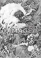 【スーパーマン/ラインアート (ポスター賞) 】 ベアブリック HAPPYくじ DC BE@RBRICK