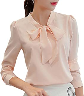 Limsea White Blouses for Women Elegant Lace Fashion 2019 Women's Chiffon Shirt Tops Long Sleeves Plus Size