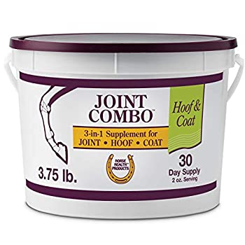 Horse Health Joint Combo Hoof & Coat convenient 3-in-1 supplement for complete joint hoof & coat care 3.75 Pound