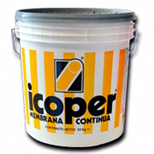 Icobit ICOPER HP grigio 20 kg Impermeabilizzante liquido versione fibrorinforzata