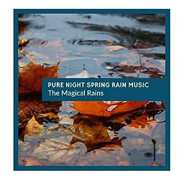 Pure night Spring Rain Music - The Magical Rains