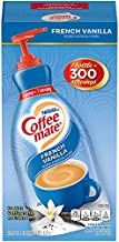 Nestle Coffee mate Coffee Creamer, French Vanilla, Concentrated Liquid Pump Bottle, Non Dairy, No Refrigeration, 50.7 Ounces