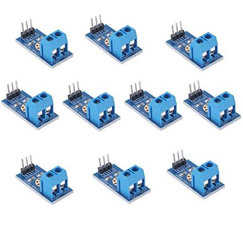 voltaje Sensor medición módulo Probador detección DC 0-25V para Arduino DIYmalls (Pack of 10)