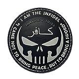 Jackets To Go JTG The Infidel Punisher - Parche de goma 3D