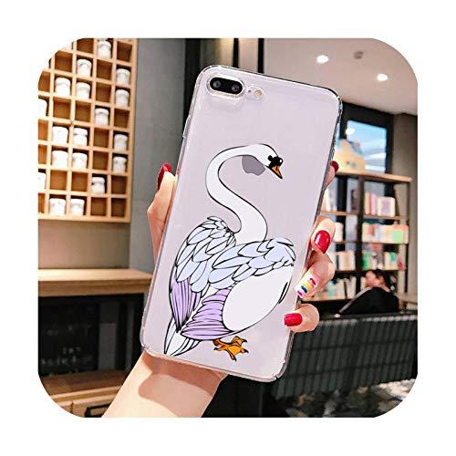 Funda para iPhone X XS MAX 6 6s 7 7plus 8 8Plus 5 5S SE 2020 XR 11 11pro max funda transparente Cover-a5-For iphone11Pro