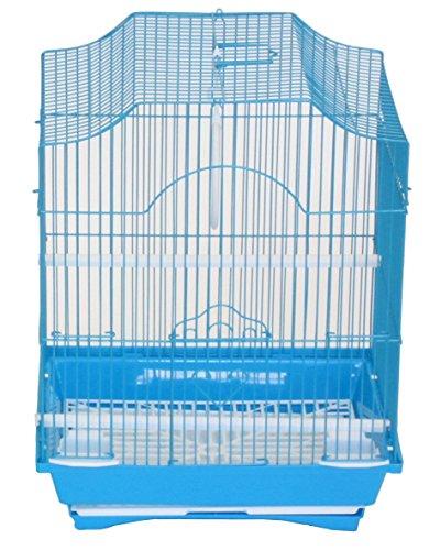YML A1134BLU Cornerless Flat Top Cage, Small