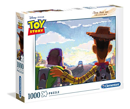 Clementoni 39491 - Toy story - 1000 Pezzi - The Art of Disney Puzzle