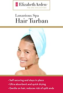 Elizabeth Arden Ultimate Spa Hair Turban (Sky Blue)