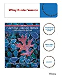 Functions Modeling Change: A Preparation for Calculus 5e Binder Ready Version + WileyPLUS Registration Card