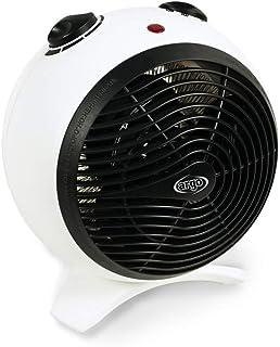 ARGO 191070177calefactor con resistencia A hilo, Color blanco y negro