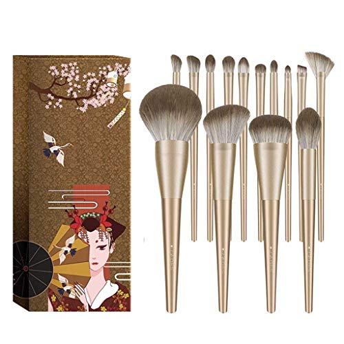 LHY- 14Makeup Pinceau Poudre Sets Outils de Maquillage Ensemble Complet de Livraison Tube Mode