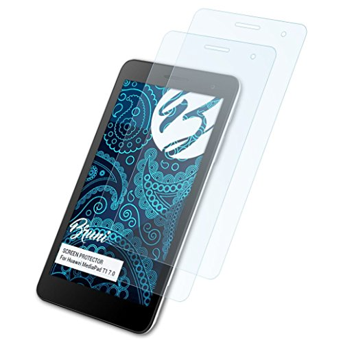 Schutzfolie kompatibel mit Huawei MediaPad T1 7.0 Folie, glasklare Displayschutzfolie (2X)
