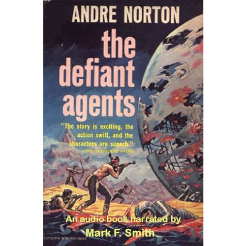 The Defiant Agents audiobook cover art