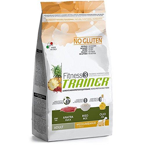Trainer Fitness 3 Adult M/M Anatra e Riso Kg. 12.5, No Gluten