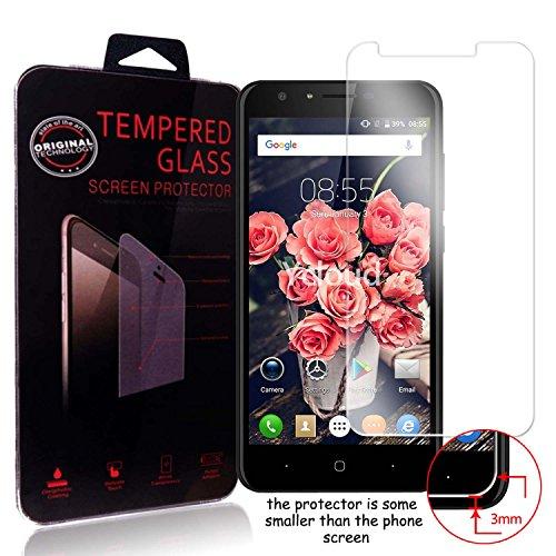 Ycloud Panzerglas Folie Schutzfolie Bildschirmschutzfolie für Doogee Y6C screen protector mit Festigkeitgrad 9H, 0,26mm Ultra-Dünn, Abger&ete Kanten