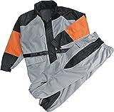 NexGen Women's Rain Suit (Black/Silver, XX-Large)
