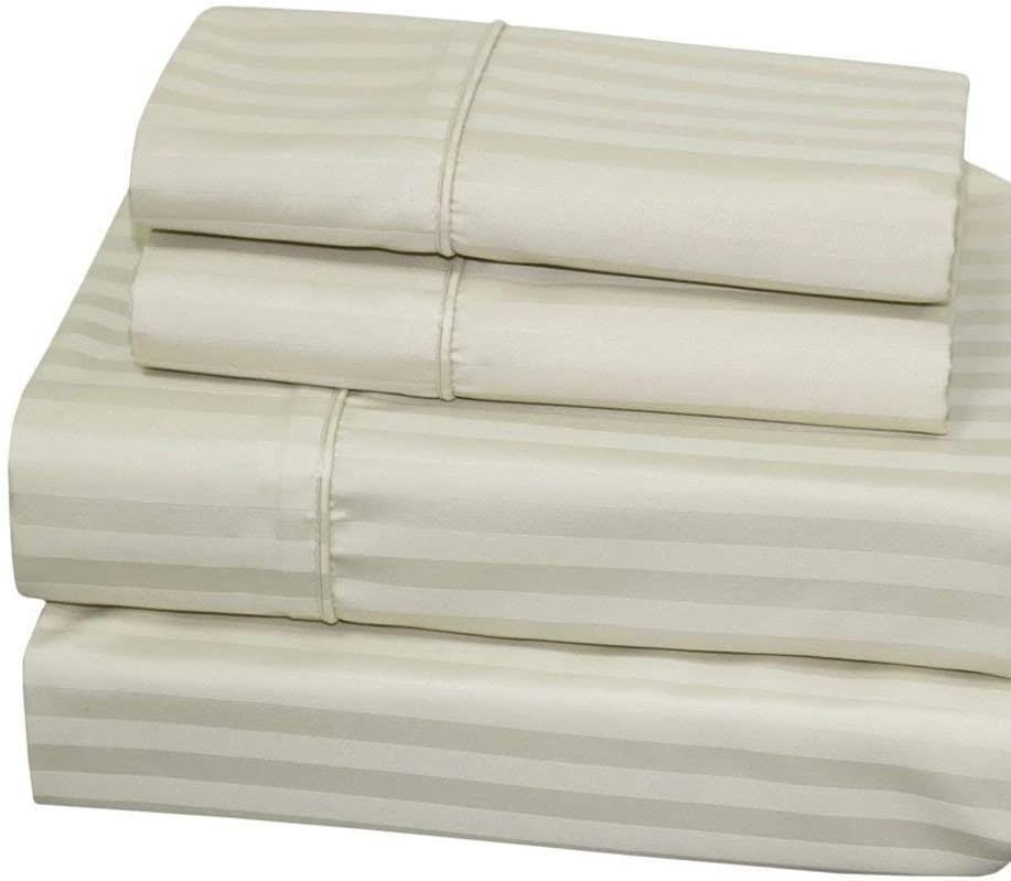 Twin-Extra-Long Sheets Cotton-Blend Wrinkle-Free Denver Mall - Manufacturer direct delivery 650-T