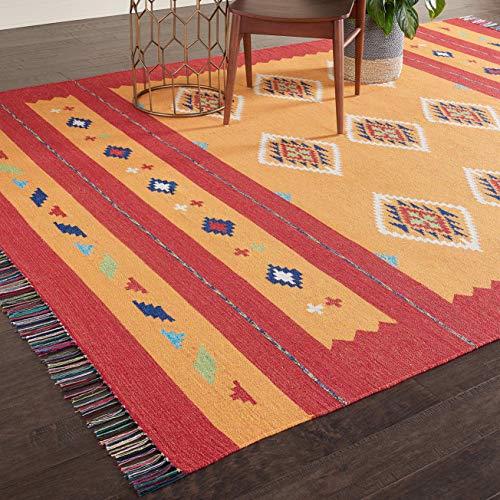 Eine Marke von Amazon - Movian Burgas - Rechteckiger Teppich, 304,8x243,8cm (L x B), Geometrisches Muster