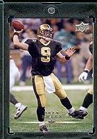 2008 Upper Deck #118 Drew Brees - New Orleans Saints - NFL Trading Cards