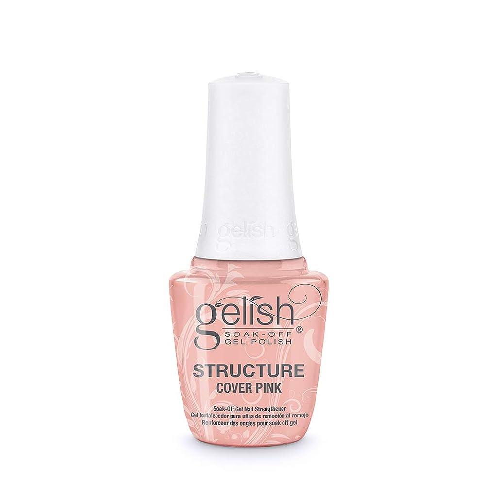 肩をすくめる世紀ビクターGelish Brush-On Structure Gel - Cover Pink - 15 ml / 0.5 oz