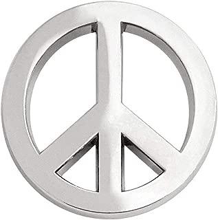 Peace Symbol Lapel Pin