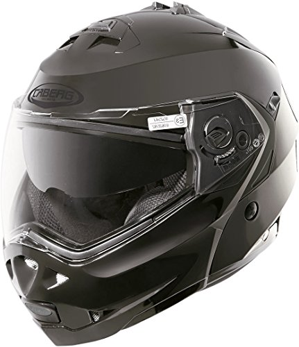 Caberg - Casco Duke Ii, Smart Negro, Talla XL