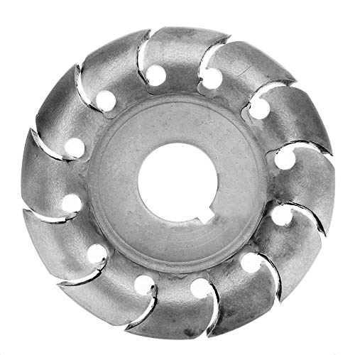 65mm Wood Shaping Disc Wood Carving Disc 16mm Bore 12 Teeth Extreme Shaping Disc for 100 Angle Grinder Woodworking Tool