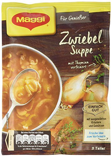 Maggi Für Geniesser Zwiebel Suppe, 14er Pack (14 x 56 g)
