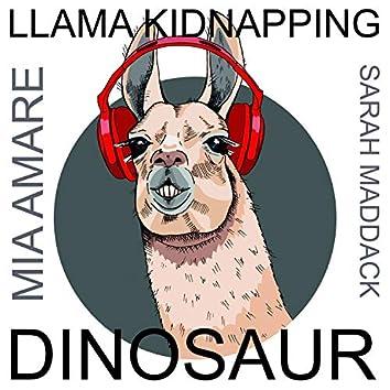 Llama Kidnapping Dinosaur