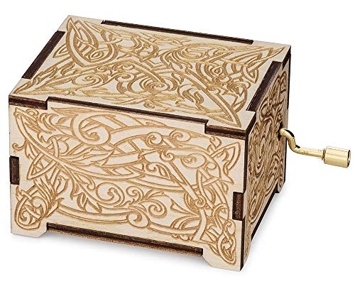 TheLaser'sEdge, Featuring Music of Hedwig's Theme, Personalizable Music Box (Personalized)