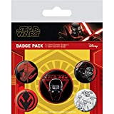 Star Wars Badges multicolores 10 x 12,5 cm