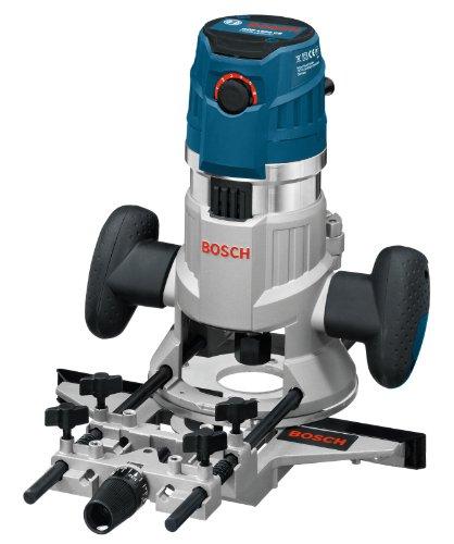 Bosch Professional GMF 1600 CE - Fresadora de inmersión y copiadora (1600 W, 25000 rpm, 2 bases, en L-BOXX)