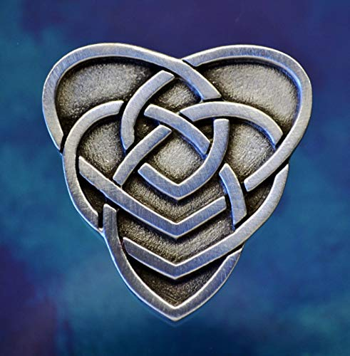 Celtic Mother Knot Brooch Pin | Celtic Jewelry | Pewter Celtic Pin | Motherhood