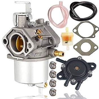 FE290 Carburetor+Fuel Pump for Golf Cart Club Car DS & Precedent Turf Carryall FE290 Engines Carb 1018056-01 101805601 1019056-01 101905601 1016438 1016439 1016440 1016441 1016478 17561,1998-UP Carbur