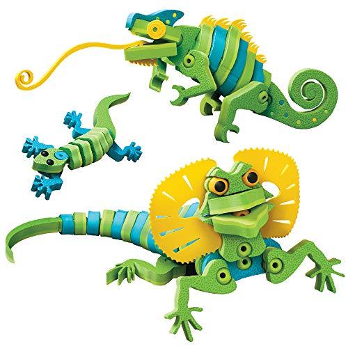 Bloco Jaszczurki i Kameleony: zestaw konstrukcyjny , color/modelo surtido