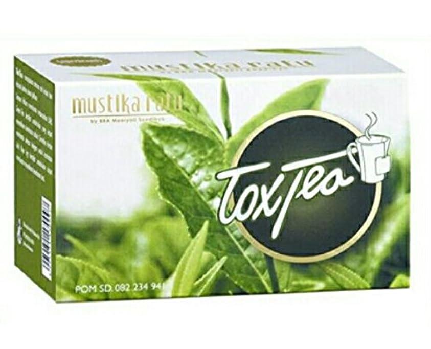 堀静脈中世のMustika ratu Tea ムスティカラトゥトックスティー3箱x 15個のティーバッグ= 45個のティーバッグ