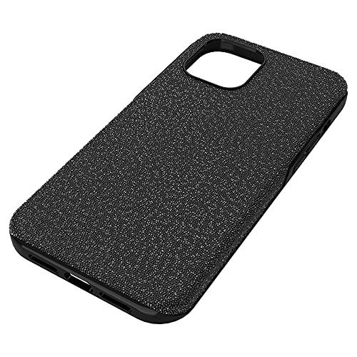 Swarovski Funda Alta para Smartphone, iPhone 12 Pro MAX, Negro